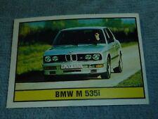 Sammelsticker Nr. 41 Bild Sticker Auto 2000 BMW M 535i Panini 1985