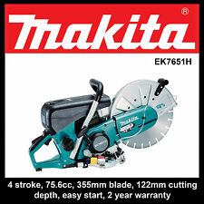 Demolition Saw 4 Stroke Power Tool Equipment 355mm 75.6cc Makita Series EK7651H