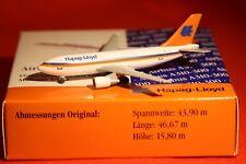 HERPA 501026 HAPAG LLOYD AIRBUS A310-300 1-500 SCALE