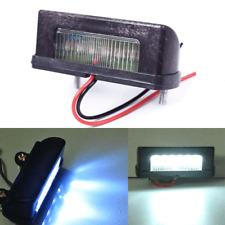 12V LED Number Licence Plate Light Rear Tail Lamp Truck Trailer White Pop