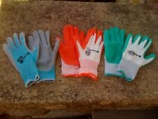 New,Woman's Work and Garden Gloves 1pair-2 colors to choose-Nitrile Coated Knit