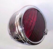 MG/MGTA/MGP Lucas ST-38 Chrome, Red Stop/Tail Light & Number Plate Light