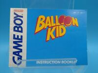 jeu video notice BE nintendo gameboy balloon kid usa-1