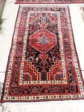 4x6ft. Vintage Malayer Wool Rug