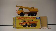 MATCHBOX LESNEY DODGE CRANE TRUCK NO. 63 NM & ORIGINAL BOX