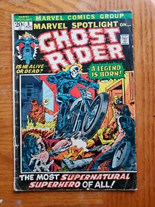 GHOST RIDER #5 1ST GHOST RIDER/JOHNNY BLAZE.. KEY ISSUE!!