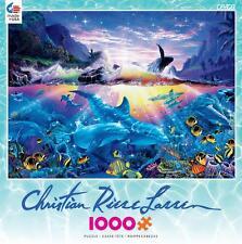 CEACO CHRISTIAN RIESE LASSEN JIGSAW PUZZLE OCEAN DANCE 1000 PCS #3388-3