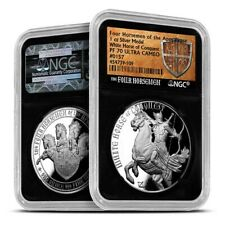 Four Horsemen Of The Apocalypse White Horse Of Conquest NGC PF70 Silver PF Coin
