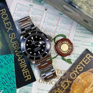 Rolex Submariner 16610 T25 Dial Immaculate 1993 X Serial Watch