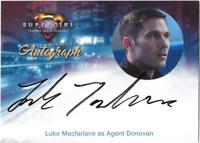 Cryptozoic Supergirl Auto Autograph Card Luke Macfarlane Agent Donovan LM