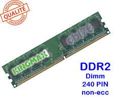 Mémoire 512MO DDR2 PC2-5300U KINGMAX 240PIN 667MHZ 1Rx8 Dimm memory POUR PC