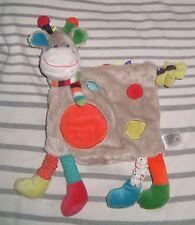 Doudou Zoé la girafe vache Nicotoy Kiabi neuf