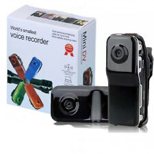 Mini DV MD80 DVR Video Camera  Security Hidden DVR Camera The World's Smallest