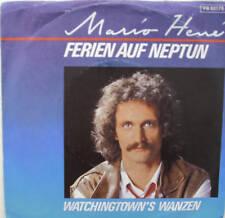 "7"" 1984 RARE ! MARIO HENE Ferien auf Neptun // MINT- \"