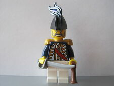 Lego PIRATE Imperial GOVERNOR Guard Soldier MINIFIG NEW Cutlass