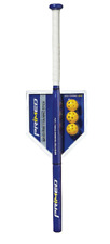 12 oz Weighted Hitting Training Stick Speed Swing Bat and Practice Balls