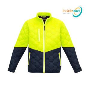 Syzmik Workwear Unisex Hi Vis Hexagonal Puffer Jacket ZJ420
