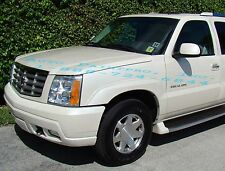 Escalade White Pearl tri coat 800J basecoat clearcoat restoration paint supplies