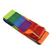 Super Nylon Stunt Kite Tail Rainbow Line Kite Accessory Kids Toy N3