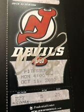 Matt Taormina Autographed New Jersey Devils Game Ticket Montreal Canadiens