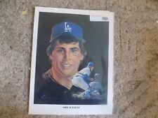 1982 Los Angeles Dodgers Union 76 Oil Print: Mike Scioscia