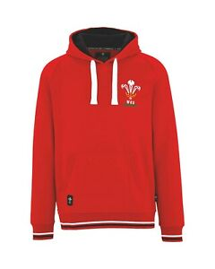 Official RFU Wales Men's Six Nations Rugby Hoody