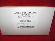 Armies In Plastic 1/32nd Egypt & Sudan Set #1 5648  Figures & More Set NEW!