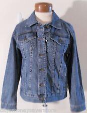 Nwt Michael Kors Womens Denim Jean Jacket Xs/L Medium Wash Blue Msrp$180