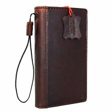 Apple iPhone 6 S Plus Case Wallet Genuine Italy Leather Book Handmade Pocket New