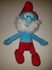 "X'mas The Smurfs Character Soft Plush Toy 13"" Papa Smurf Stuffed Teddy Doll"