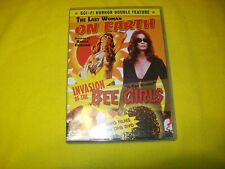 THE LAST WOMAN ON EARTH & INVASION OF THE BEE GIRLS DVD ROGER CORMAN