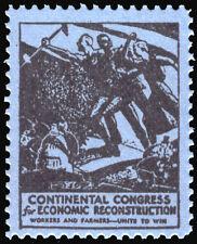 1933 Continental Congress Economic Reconstruction - socialism