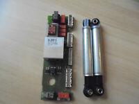 Motorkohle ! Miele Elektronik Reparatur W 877 Sorglos Paket inkl Stoßdämpfer