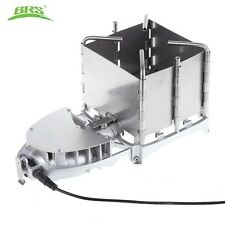 BRS-116 Camping Wood-burning Stove Foldable Firewood Furnace Barbecue Grill