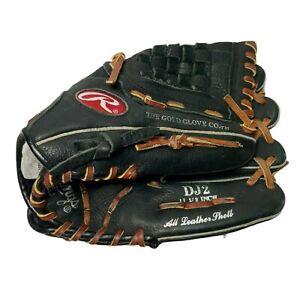 """Rawlings PRODJ2 Derek Jeter 11.5"""" Heart Of The Hide Baseball Glove Right Throw"""