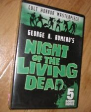 Night of the Living Dead: Includes 5 Bonus Movies (Dvd, 2017, 2-Disc Set) Sealed