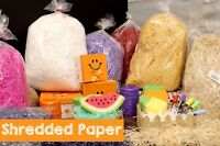 Great Shredded Paper For Baskets and Gifts Wedding Boxes Arts Crafts Uses