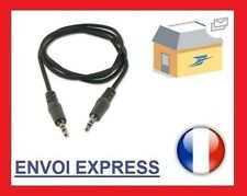 Cable Jack Auxiliaire 3,5mm pour RENAULT Kangoo Laguna Traffic Twingo
