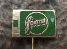 Antique FOMA Classic Slide Roll Camera Film Photo Negative Enamel Pin Badge