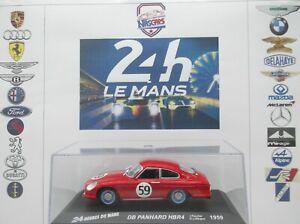 1/43 DB Panhard HBR5 #59 rouge 24 heures du Mans 1959 FAUCHER-Laffargue Altaya