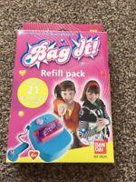 BANDAI BAG IT REFILL PACK RARE MAKES 21 CHARMS 08220