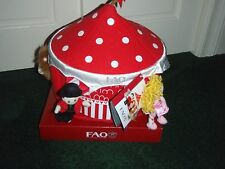 FAO Schwarz Big Top Circus Playset Includes Plush Animals and Tent New