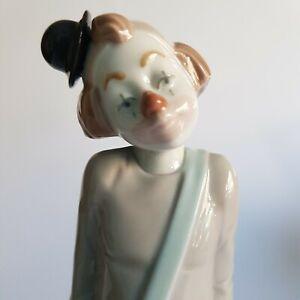 Porzellanfigur Clown von Nadal