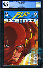 Flash Rebirth #1 - First Print - Cgc 9.8 - Sold Out - Dc Comics Relaunch