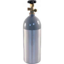 5 lb CO2 Tank Aluminum Air Cylinder Draft Beer Kegerator Welding Wine Homebrew