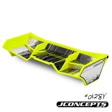 JCONCEPTS  Finnisher 1/8 Buggy/Truck/Truggy Wing w/Gurney Yellow JC0128 JCO0128Y