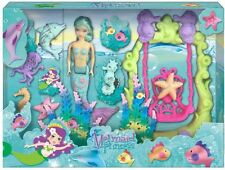 Mermaid Princess Dress Up Play Doll Figure Playset ~ Colour Varies