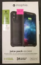 Mophie Juice Pack Access Battery Case Cover For iPhone XR Brand New Sealed #233