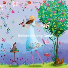 Mila Marquis Fee mit Geige Postkarte Sammelkarte Postcrossing Gr: 14x14cm
