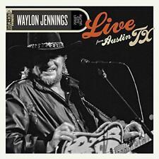 Waylon Jennings - Live From Austin Tx (NEW CD+DVD)